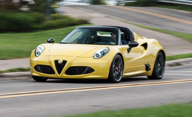 2015 Alfa Romeo 4C Spider - Instrumented Test