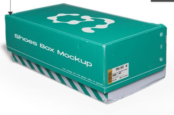 Download Free Shoes Box Psd Mockup Titanui In 2021 Packaging Mockup Graphic Design Projects Mockup Free Psd