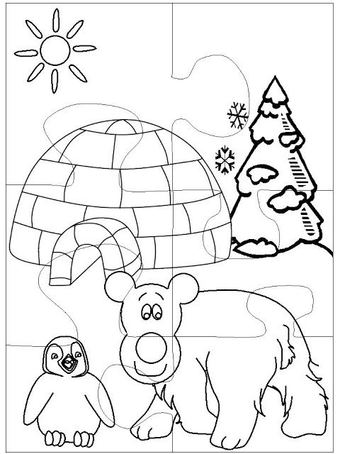 Coloring Winter Animals : 128 best coloring farm animals images on pinterest