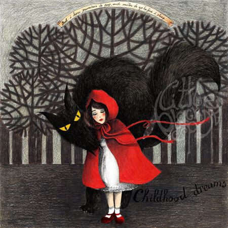 """Miles to Go Before I Sleep"" (Red Riding Hood). Raquel Costa. Portugal"