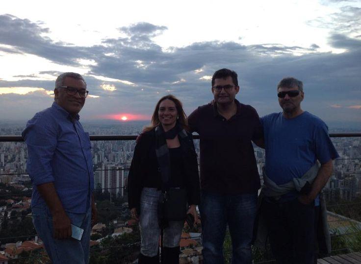 18/06/2015 - Ildeu, Jacqueline, André e Mário em BH