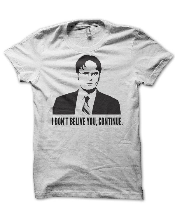 Dwight Schrute, The Office - T Shirt. $12.95, via Etsy.