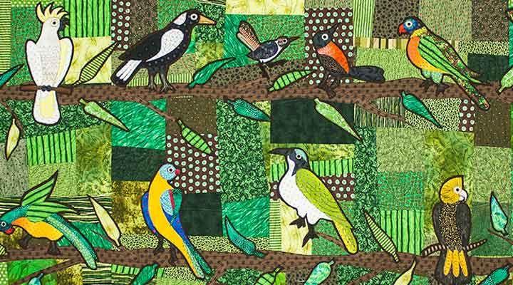 JAN MULLEN starboard birds [detail] 2013