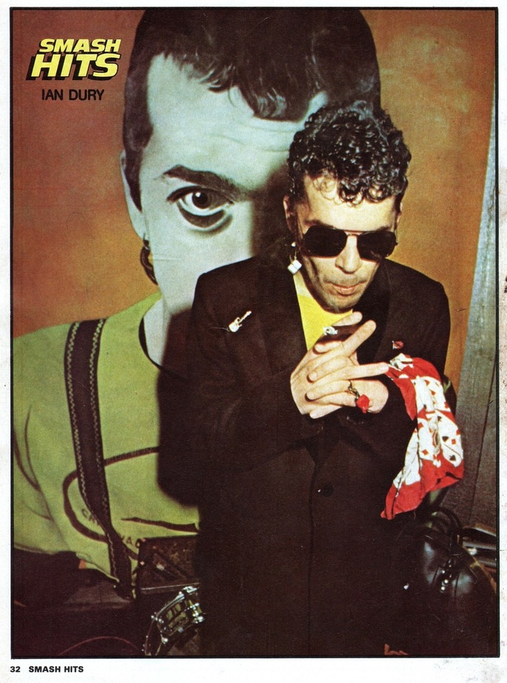 Ian Dury. Hit me with your rhythm stick
