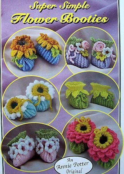 Crochet Super Simple Slippers  Annie Potter Original   Patterns