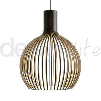 Octo+4240+Taklampe+Sort+-+Secto+Design
