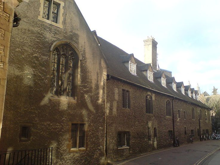 Corpus Christi College's Old Court, attacked by the rebels on 15 June