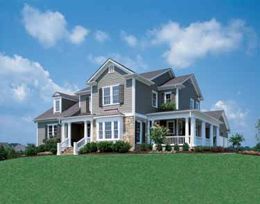 Elegant Farmhouse (HWBDO04473)   Country House Plan from BuilderHousePlans.com