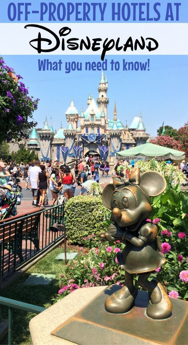Off-property hotels at Disneyland: Considering staying off-site in a Good Neighbor hotel on your family's next Disneyland vacation? Find out how to get access to many perks and have a convenient stay even on a budget.