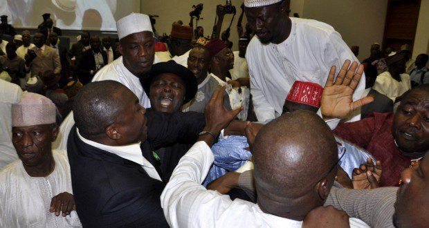 NIGERIAN POLITICIANS HIJACK FIGHT OVER N5000 FOR THE POOR   The hope of the poorest and most vulnerable to experience a change in their standard of living since the inauguration of President Muhammadu Buhari in May 2015 may have been dashed following an alleged hijack of the Federal Governments monthly stipend meant for them.  The Presidency had two weeks ago announced the payment of the stipends to the poor through the Conditional Cash Transfer of its Social Investment Programmes.  The…