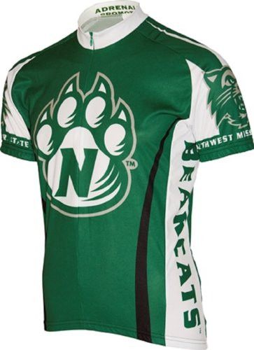 NCAA Men's Adrenaline Promotions NW Missouri State Cycling Jersey