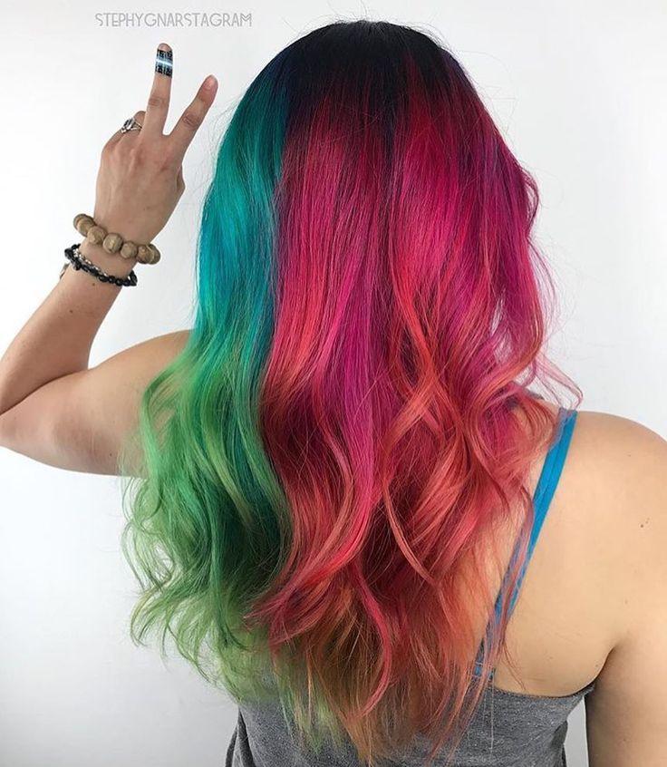Vibrant hair color by @stephygnarstagram   #pulpriothair