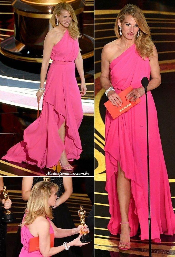 e8a78df99 Lancôme assina beleza de Julia Roberts no Oscar 2019 - Julia Roberts ...