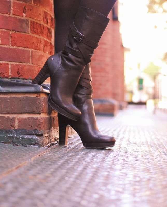 ugg australia s high heeled boot for the jardin