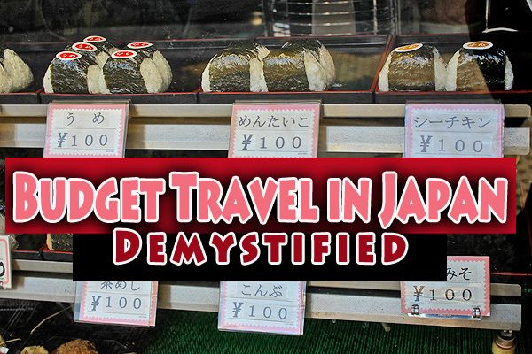Is it possible to make it out of Japan with your wallet? budget travel in japan demystified. I have budget travel tips to prove you can.