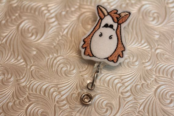 adorable horse  professional nurse badge holder  by DefinitelyYou