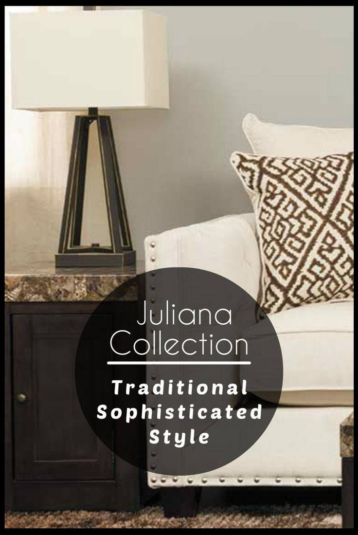Add sophisticated style to your room with the juliana collection from blue mountain furniture from