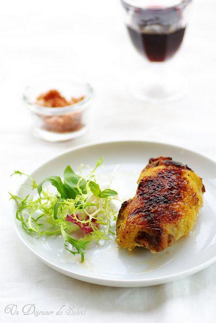 Cuisses de poulet au mascarpone et aux herbes, cuites à basse température…