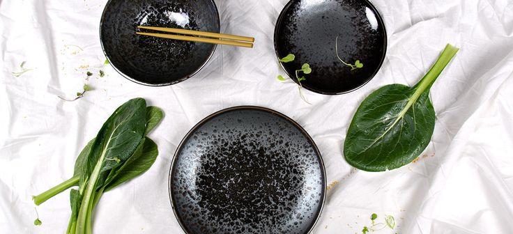 Black Pearl www.mij.com.au  Made in Japan | Japanese ceramic tableware |