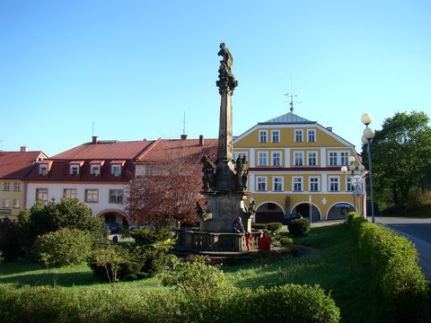 historické centrum Žacléře