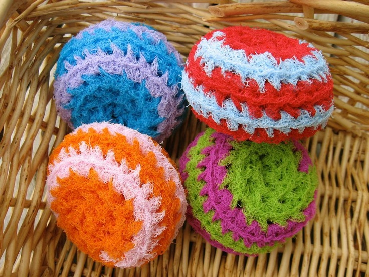 Free Crochet Patterns For Nylon Net Scrubbies : 54 best images about Scrubbies on Pinterest Circle ...