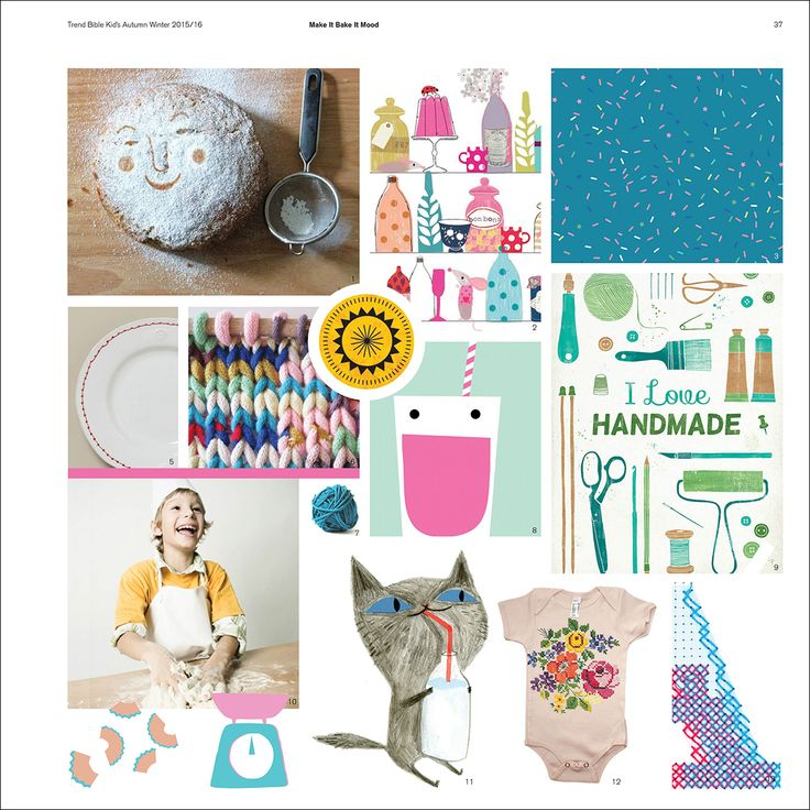 Trend Bible Kid's Lifestyle - Trends for the Home A/W 2015/2016   mode...information GmbH