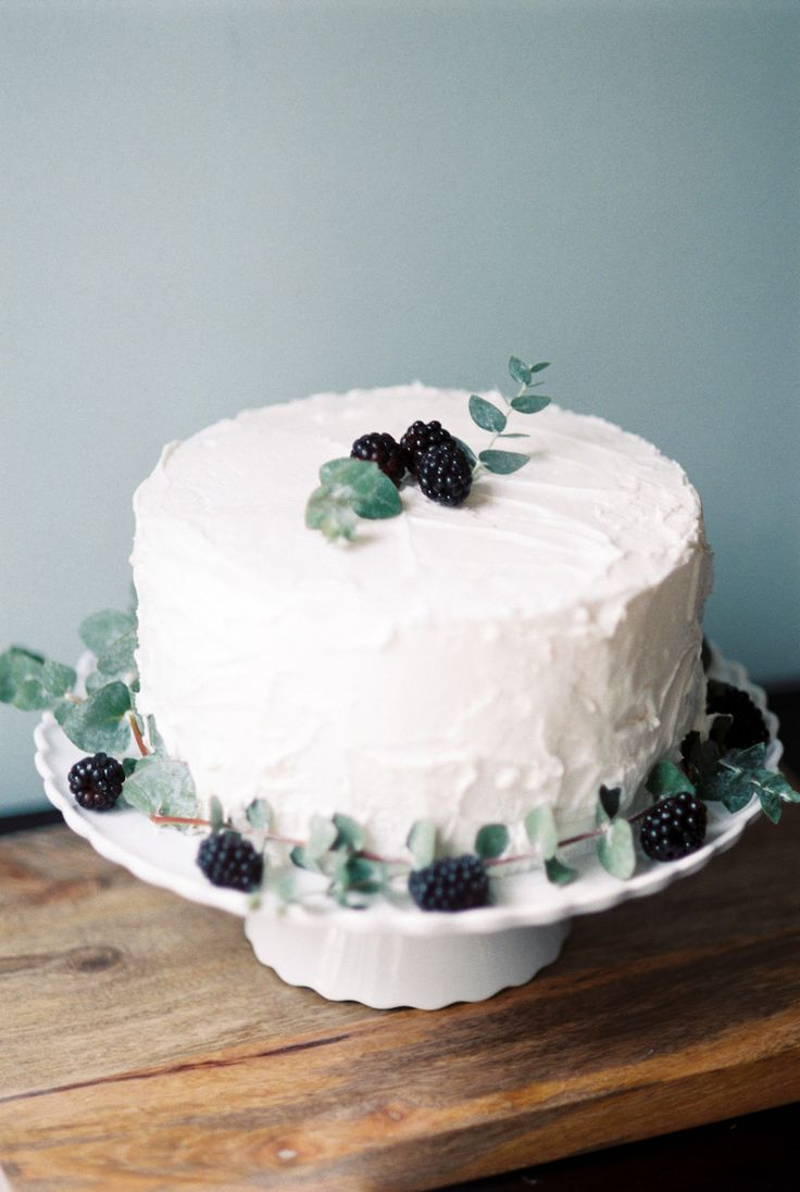 Blackberry Basil Swirl Pound Cake