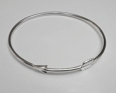 Bangle - ARROW - Sterling Silver or 9ct Gold