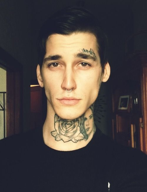 17 best images about gorgeous people on pinterest gauges for Eyebrow tattoo men