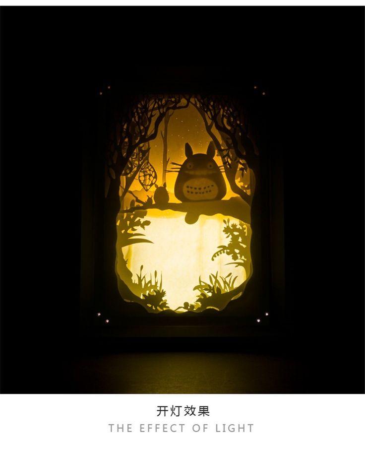 Aliexpress.com: Comprar Animación / Miyazaki Hayao mi vecino Totoro creativo Night Lights / lámparas de mesa lámparas de pared de lámpara de diente de león fiable proveedores en Love Cool animation