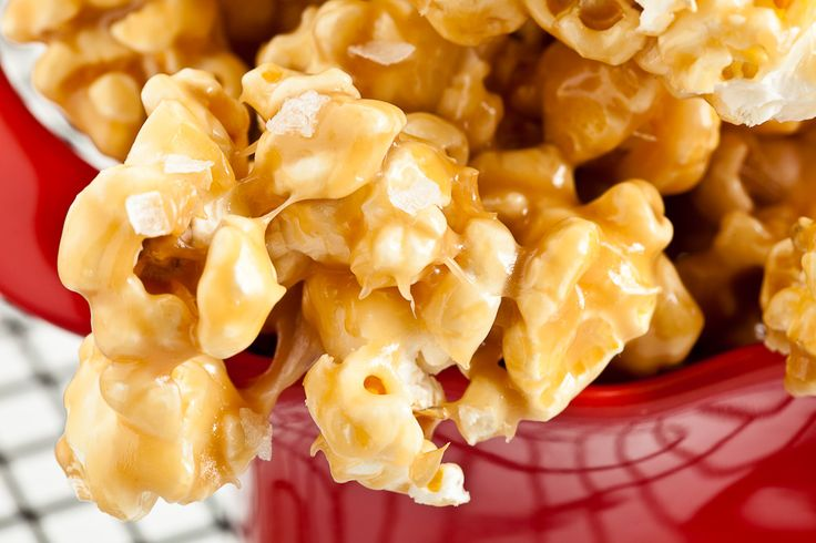 Chewy-Soft Caramel Popcorn