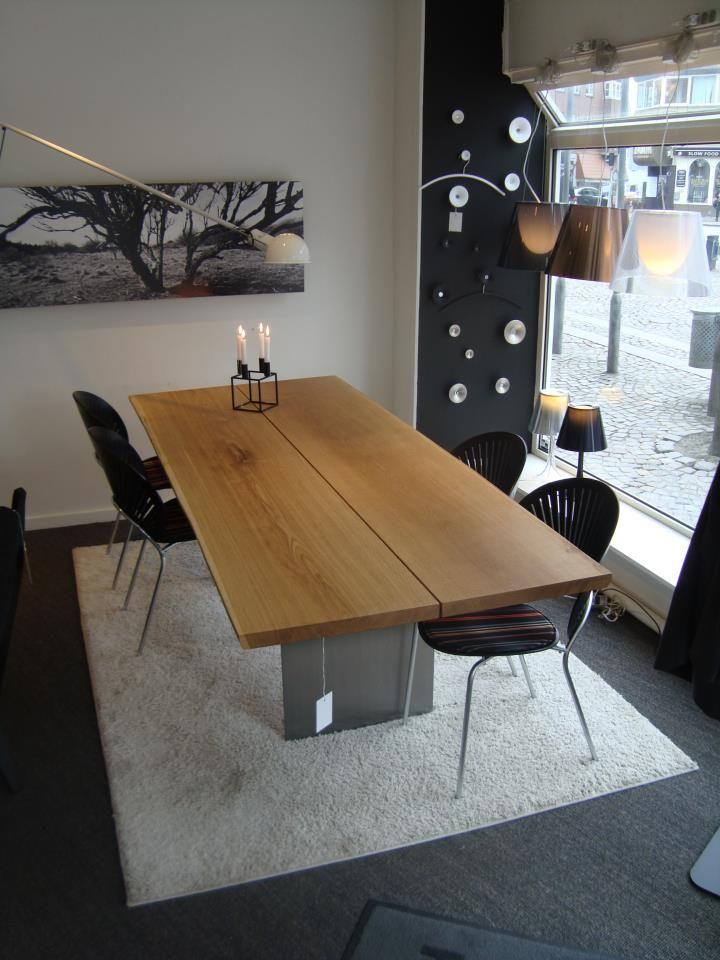 dk3 Tree Table seen at Høgh Møbler Aalborg, Denmark. #dk3 #Tree #Table #Høgh #Møbler #Aalborg #Denmark www.dk3.dk