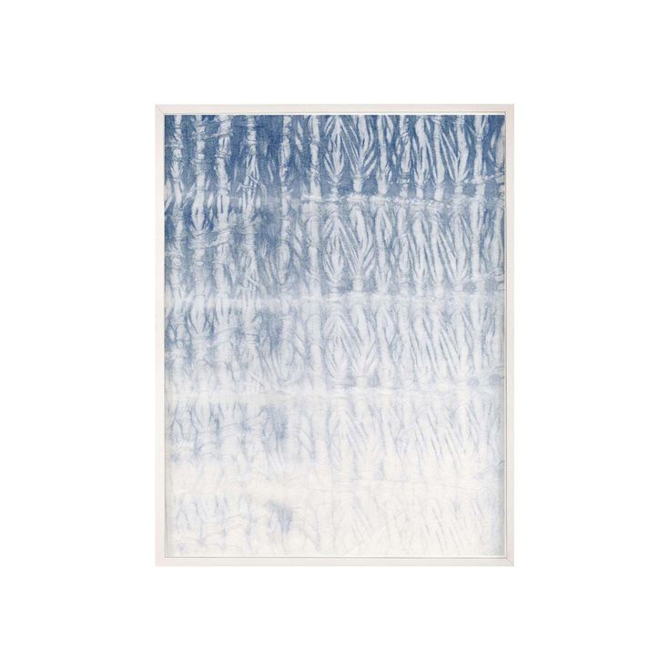 Shibori Blue 6 Wall Art