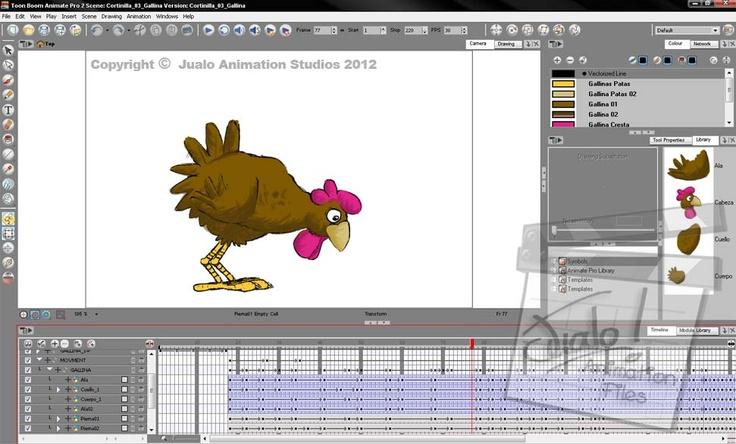 En producción: Gallina: Animación