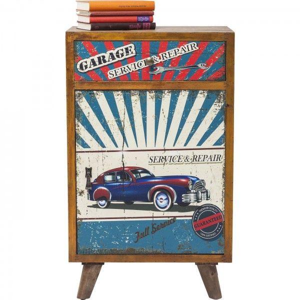 cajonera vintage Garage Style | Tiendas On