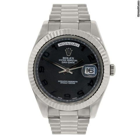 Dial: Black Concentric Dial This Item Comes with a Raymond Lee Jewelers presentation box: