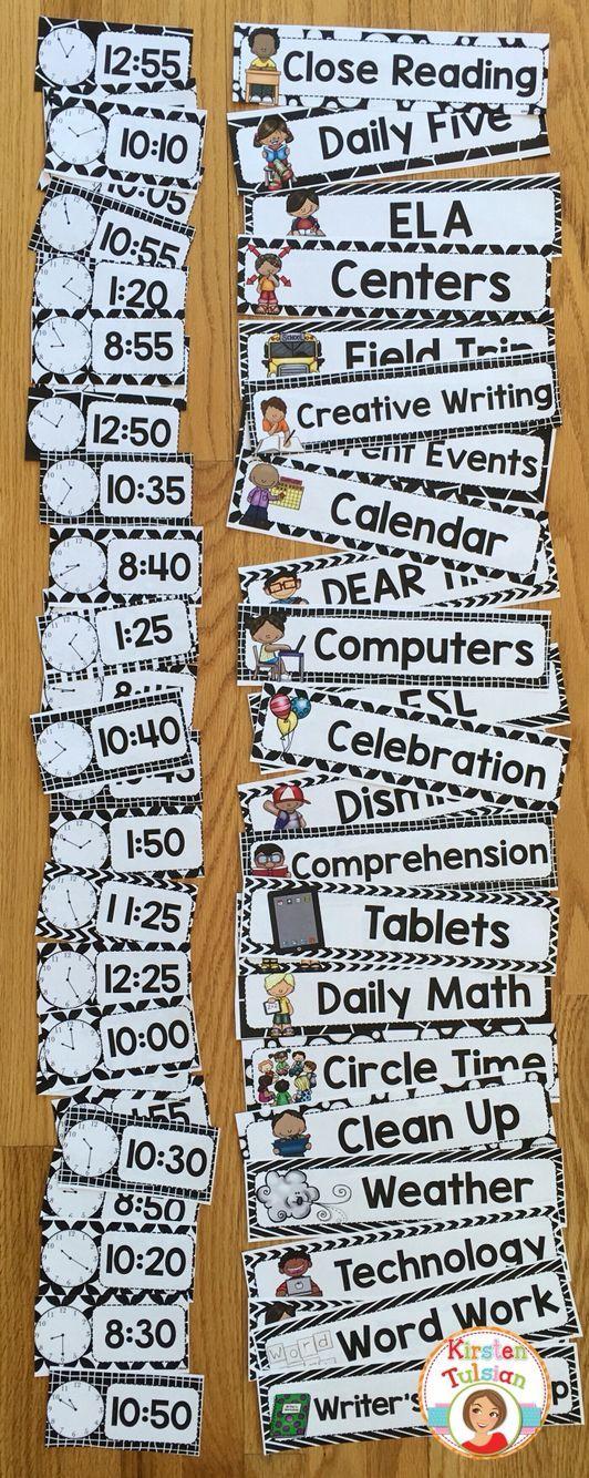 Best 25+ Class schedule ideas on Pinterest Teacher organisation - class timetable