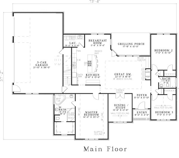 17 best images about house plans under 1800 sq ft on for 1800 square foot house plans one floor