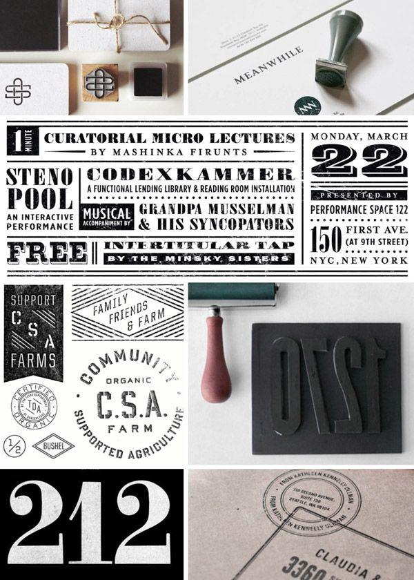 rubber stamp branding
