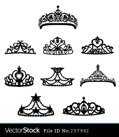 how to draw a princess crown easy