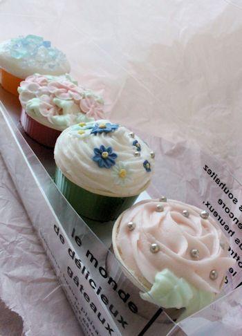 しゅわしゅわカップケーキのフラワーバスフィズレッスン 新潟 手作り石鹸の作り方教室 アロマセラピーのやさしい時間