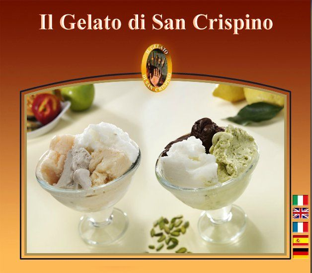 Il gelato di San Crispino, our local place and our first contender. Flavors tried: Pistachio, Mandarin Orange, Honey, Black Fig, Pear, Honey, Meringue with Caramel, and Meringue with Hazelnuts.