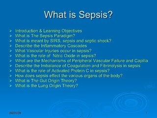 what-is-sepsis by Husni Ajaj via Slideshare