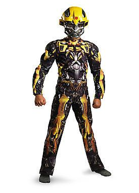 Transformers-Bumblebee Classic Muscle Boy's Costume