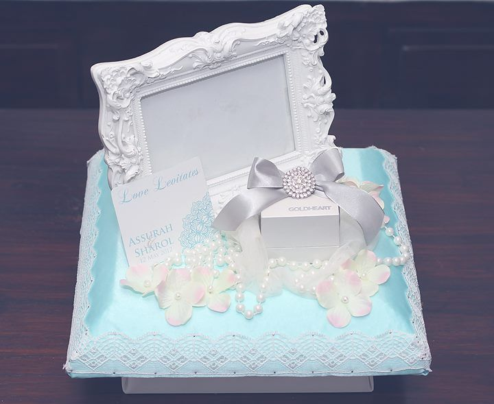 Tiffany Blue & Creme gift tray