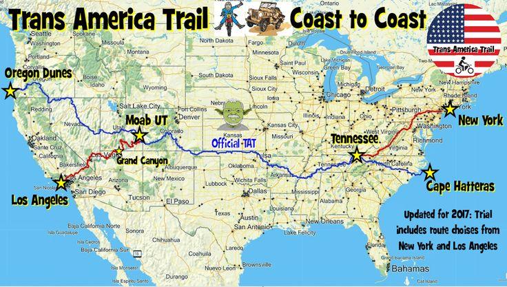 Trans America Trail - gpsKevin Adventure Rides