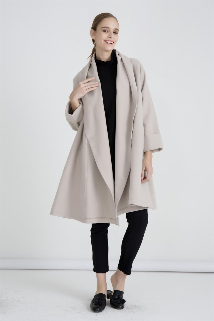 Tirelli - 17C727 - Swing Coat (More Colours Available)