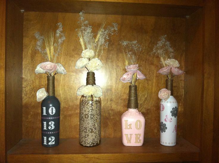 Crafts With Mini Liquor Bottles Best 10 Liquor Bottles Ideas On