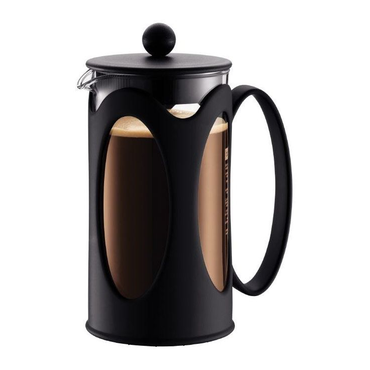 The chrome-plated body keeps it durable and attractive, the plastic handle and base offer good heat protection for any surface. The Kenya will allow you to taste, smell and savour the full flavour profile of your favourite coffee!