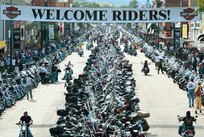 Bike week. Sturgis, SD.